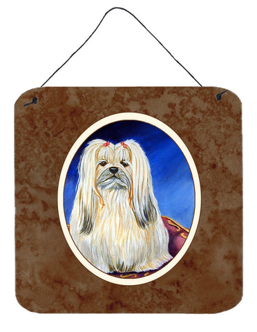 Buy this Lhasa Apso Wall or Door Hanging Prints 7129DS66