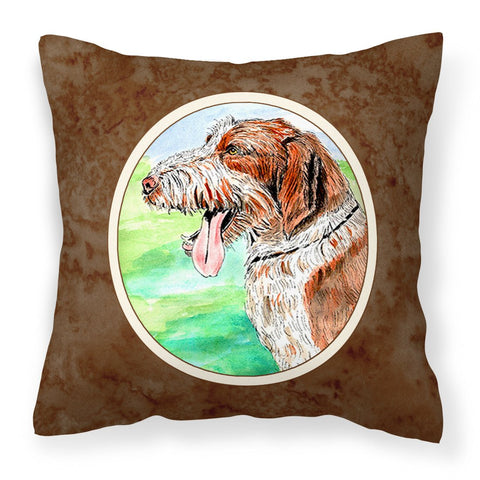 Buy this Italiano Spinone Fabric Decorative Pillow 7134PW1414