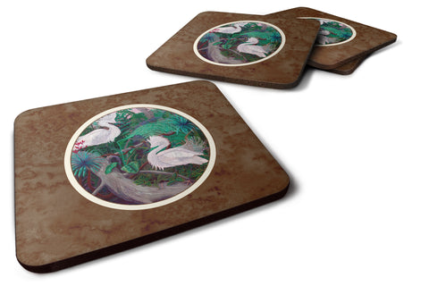 Buy this Bird - Egret Foam Coaster Set of 4 7142FC