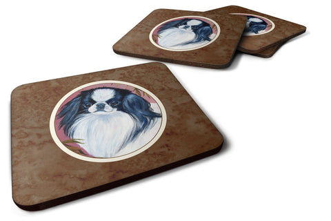 Buy this Japanese Chin Foam Coaster Set of 4 7149FC