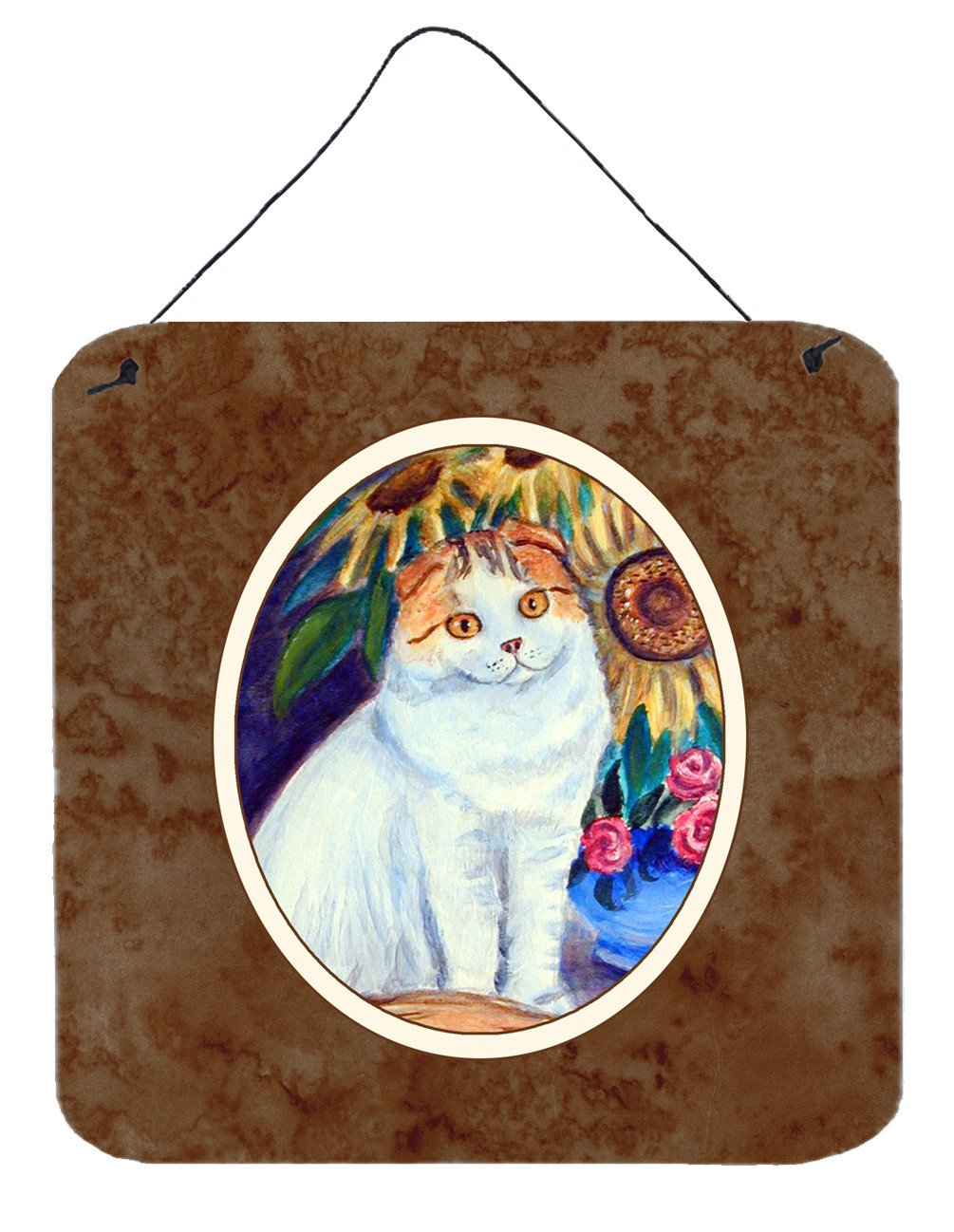 Cat Wall or Door Hanging Prints 7153DS66 by Caroline's Treasures