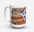 Buy this Harlequin Natural Great Dane Dishwasher Safe Microwavable Ceramic Coffee Mug 15 ounce 7162CM15