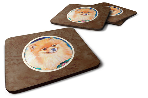 Buy this Pomeranian Foam Coaster Set of 4 7165FC