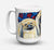 Buy this What a pair of Pekingese Dishwasher Safe Microwavable Ceramic Coffee Mug 15 ounce 7193CM15