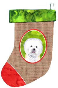 Buy this Bichon Frise Christmas Stocking SC1013