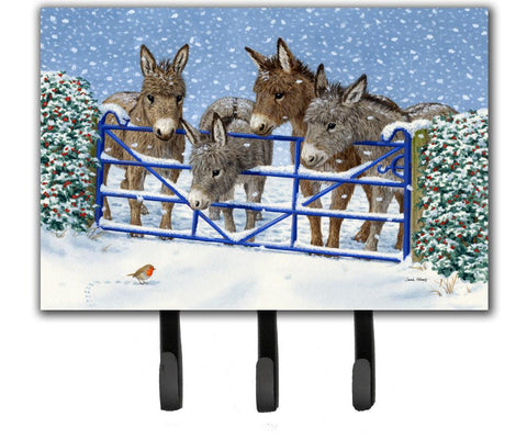 Buy this Donkeys and Robin at the Fence Leash or Key Holder ASA2210TH68