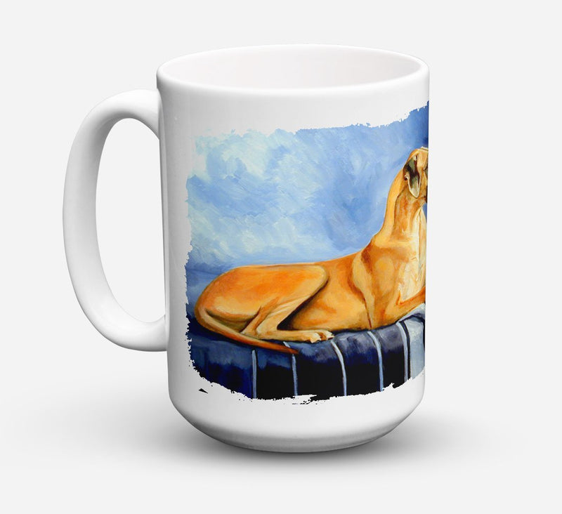 Buy this Natural Fawn Great Dane Dishwasher Safe Microwavable Ceramic Coffee Mug 15 ounce 7204CM15
