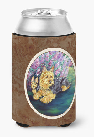 Buy this Australian Terrier and Puppy Can or Bottle Hugger 7209CC