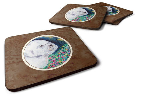 Buy this Bichon Frise Foam Coaster Set of 4 7225FC