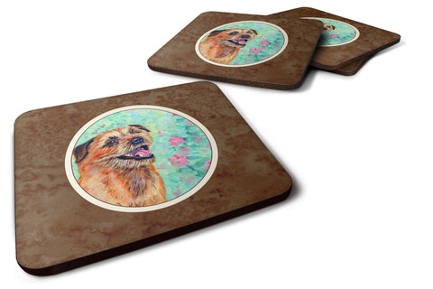 Buy this Border Terrier Foam Coaster Set of 4 7228FC