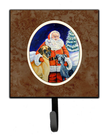 Buy this Santa Claus with Great Dane Leash or Key Holder 7232SH4