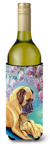 Buy this Great Dane and puppy Wine Bottle Beverage Insulator Beverage Insulator Hugger