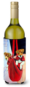 Buy this Jack Russell Terrier Wine Bottle Beverage Insulator Beverage Insulator Hugger 7251LITERK