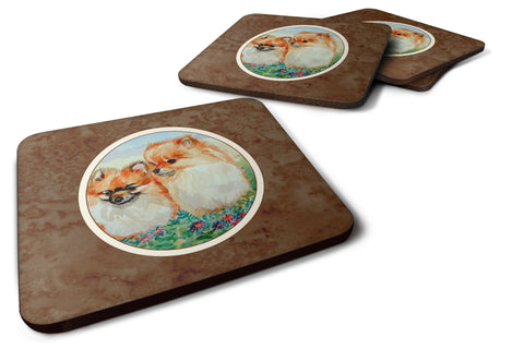 Buy this Pomeranian Foam Coaster Set of 4 7262FC