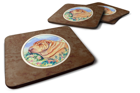 Buy this Shar Pei Foam Coaster Set of 4 7271FC