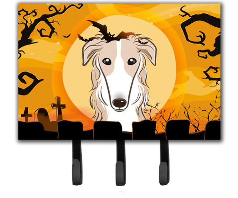 Buy this Halloween Borzoi Leash or Key Holder BB1786TH68