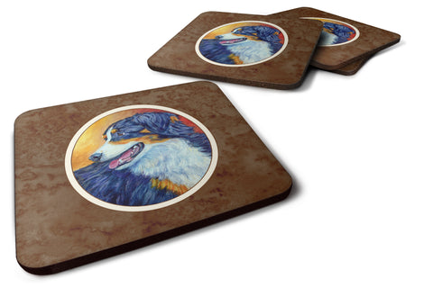 Buy this Australian Shepherd Foam Coaster Set of 4 7288FC
