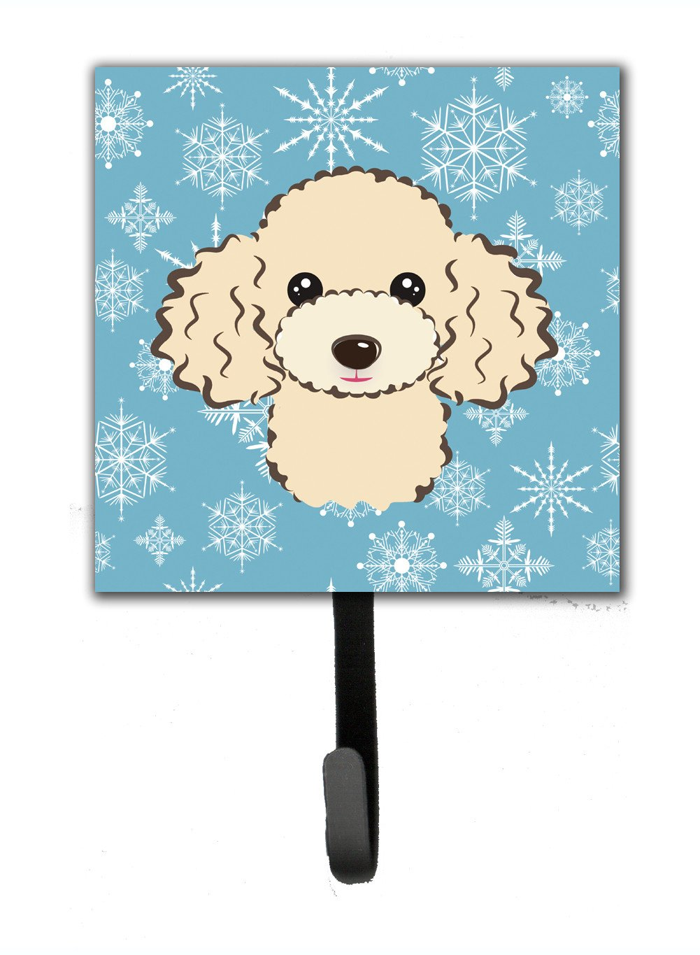Buy this Snowflake Buff Poodle Leash or Key Holder BB1692SH4