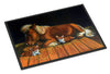 Corgi Snuggles the pony Indoor or Outdoor Mat 18x27 7323MAT - the-store.com