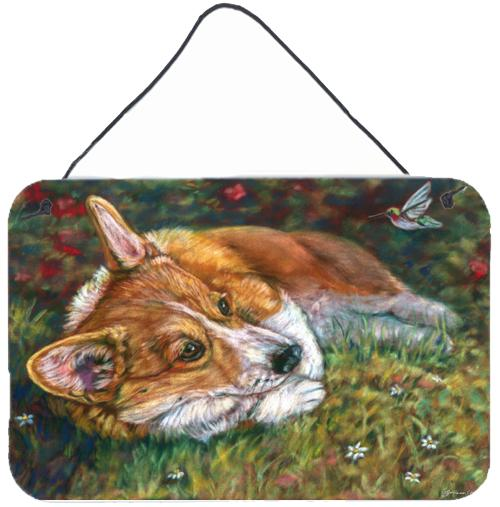Buy this Corgi Pastel Hummingbird Wall or Door Hanging Prints 7326DS812