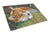 Corgi Pastel Hummingbird Glass Cutting Board Large 7326LCB - the-store.com