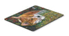 Corgi Pastel Hummingbird Mouse Pad, Hot Pad or Trivet 7326MP by Caroline's Treasures