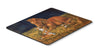 Corgi Sunrise with Colt  Mouse Pad, Hot Pad or Trivet 7329MP by Caroline's Treasures
