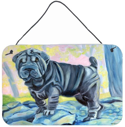 Buy this Blue Shar Pei Wall or Door Hanging Prints 7333DS812