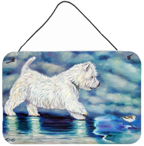 Buy this Misty Westie Wall or Door Hanging Prints 7334DS812