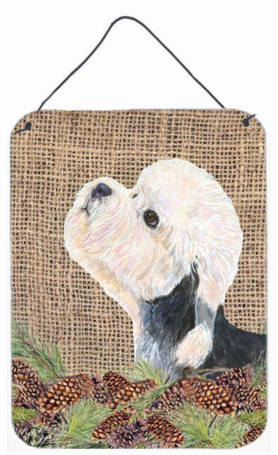 Buy this Dandie Dinmont Terrier Aluminium Metal Wall or Door Hanging Prints