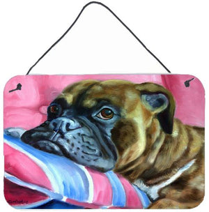 Buy this Fawn Boxer Wall or Door Hanging Prints 7347DS812