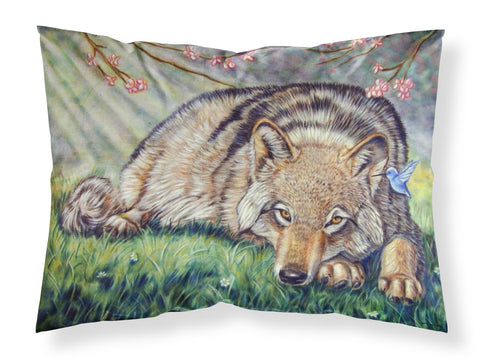 Buy this Wolf and Hummingbird Fabric Standard Pillowcase 7356PILLOWCASE