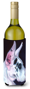 Great Dane Harlequin Wine Bottle Beverage Insulator Hugger 7386LITERK by Caroline's Treasures