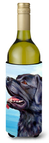 Black Labrador Retriever Wine Bottle Beverage Insulator Hugger 7389LITERK by Caroline's Treasures