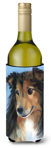 Sheltie Good Boy Wine Bottle Beverage Insulator Hugger 7395LITERK by Caroline's Treasures
