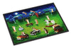Corgi Backyard Circus Indoor or Outdoor Mat 18x27 7403MAT - the-store.com