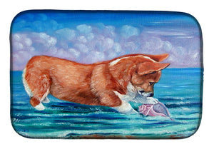 Buy this Corgi Sea Shell Find Dish Drying Mat 7407DDM
