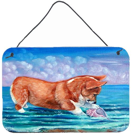 Buy this Corgi Sea Shell Find Wall or Door Hanging Prints 7407DS812