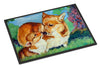 Corgi Momma's Love Indoor or Outdoor Mat 18x27 7412MAT - the-store.com
