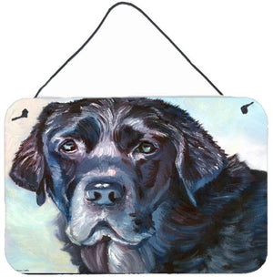 Buy this Black Labrador Face Wall or Door Hanging Prints 7419DS812