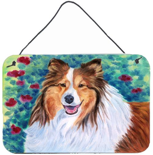 Buy this Sheltie Wall or Door Hanging Prints 7424DS812