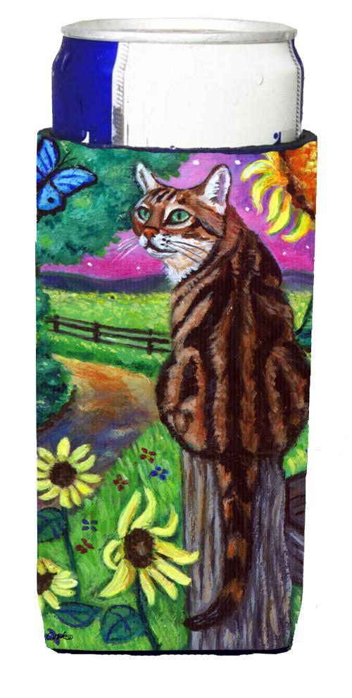 Bengal Cat Michelob Ultra Beverage Insulators for slim cans 7425MUK - the-store.com