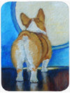 Corgi Butt Mouse Pad, Hot Pad or Trivet 7426MP by Caroline's Treasures