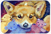 Corgi with all the toys Mouse Pad, Hot Pad or Trivet 7431MP by Caroline's Treasures