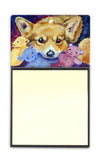 Corgi with all the toys Sticky Note Holder 7431SN by Caroline's Treasures