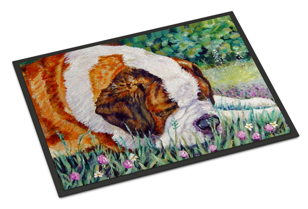 Buy this Saint Bernard Naptime Indoor or Outdoor Mat 18x27 7445MAT