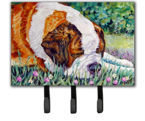 Buy this Saint Bernard Naptime Leash or Key Holder 7445TH68