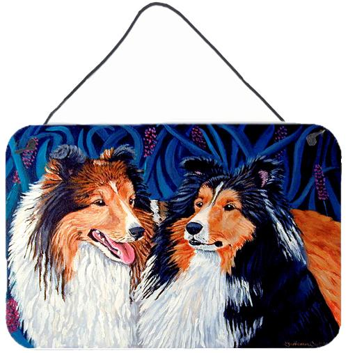 Buy this Sheltie Aluminium Metal Wall or Door Hanging Prints