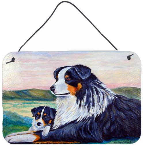 Buy this Australian Shepherd Aluminium Metal Wall or Door Hanging Prints