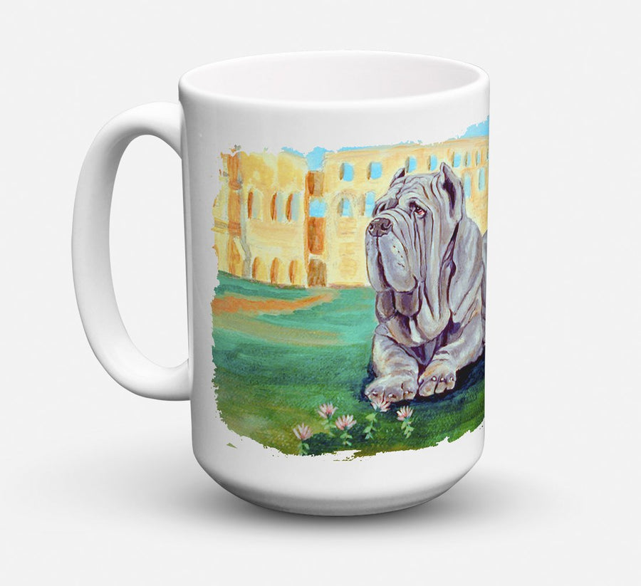 Buy this Neapolitan Mastiff Dishwasher Safe Microwavable Ceramic Coffee Mug 15 ounce 7517CM15